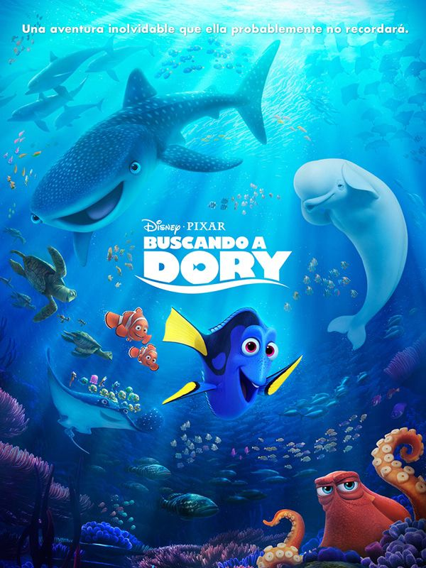 Buscando a Dory. Estreno 22 de junio en Cinezona. CC Zona Este. Cines en Sevilla.