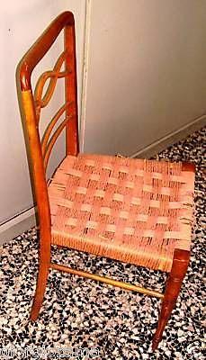 sedia anni 50