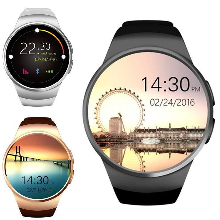 ¡ Caliente! kw18 bluetooth smart watch smartwatch teléfono apoyo tf tarjeta sim huawei de fitness reloj de pulsera para apple samsung gear s2 en Relojes inteligentes de Electrónica de consumo en AliExpress.com | Alibaba Group