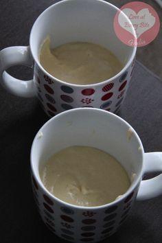 Torta allo yogurt in tazza (cottura in microonde) - Yogurt Mug Cake (microwave baked)   Loveateverybite