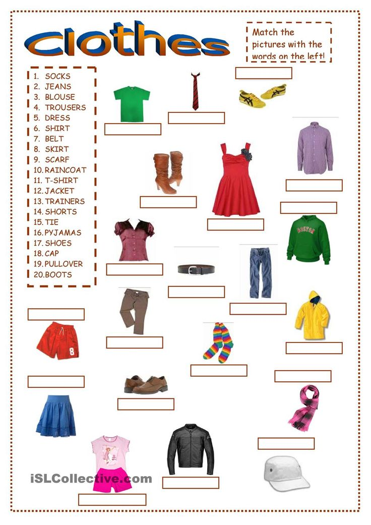 Put Away Clothes In Spanish ~ Best clothes images on pinterest english class