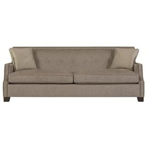 Interiors   Franco High End Transitional Sofa Sleeper With Modern Style And  Nail Head Trim By