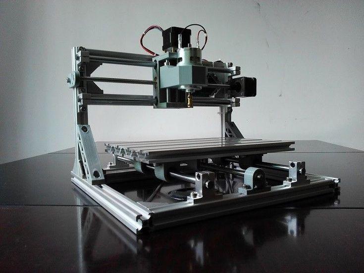 3 Axis DIY Desktop CNC Router Kit 24x18 Engraver Wood Engraving Milling Machine  | eBay