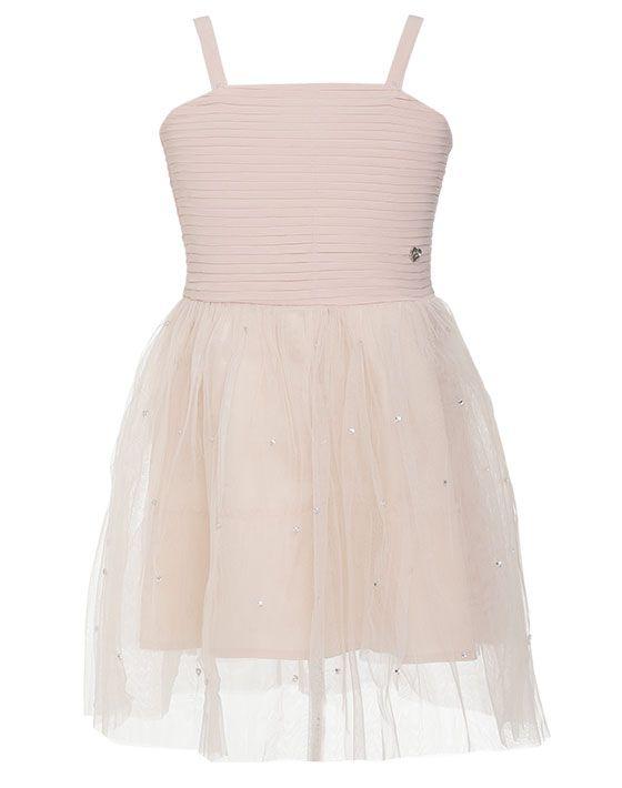 Φόρεμα με τούλι στο κάτω μέρος