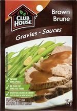 Club House Brown Gravy Mix @DinnerByDesign