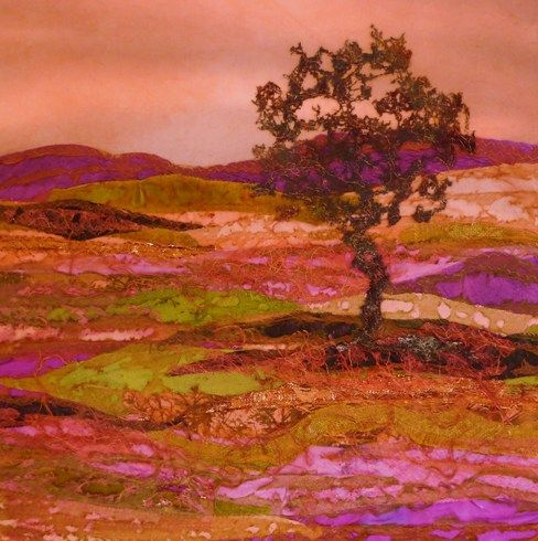 Lonely Tree by Judith Reece  Oh my!  Gorgeous!!