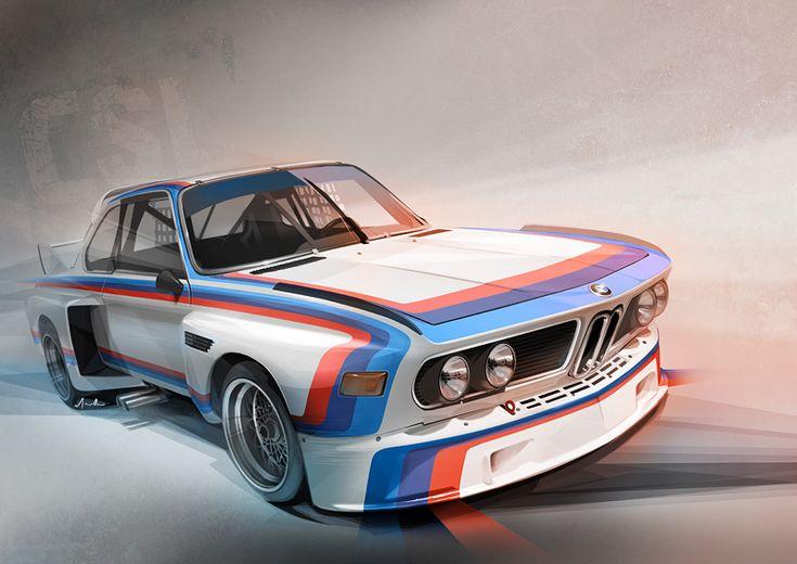 BMW E9 3.5CSL #bmw #cars #tyres