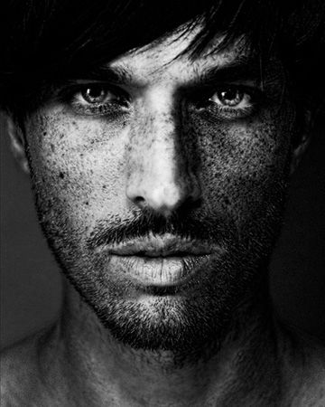 ♂ black & white photo man portrait Dale Grant photography