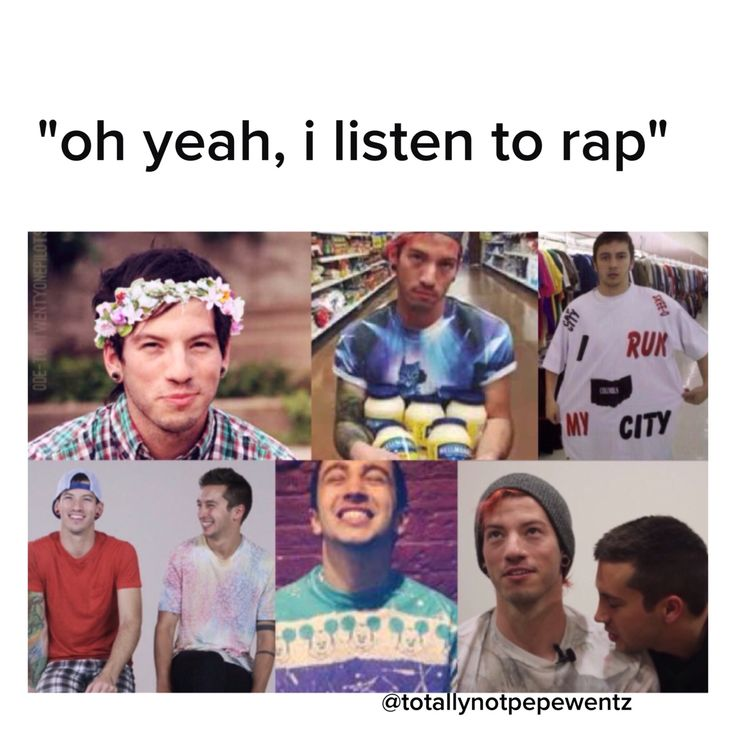 Oh yeah I love rap. One rapper actually. His names tyler joseph and he's in a band.