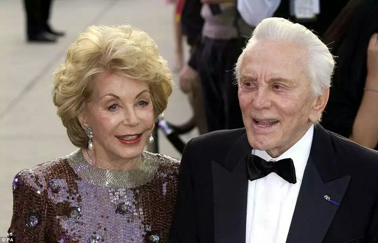 Ageless love: Kirk and his 97-year-old wife Anne Buydens will celebrate their 63rd wedding anniversary next year.