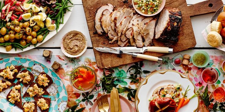 8 best dinner party ideas images on pinterest cooking for Easy easter lunch menu