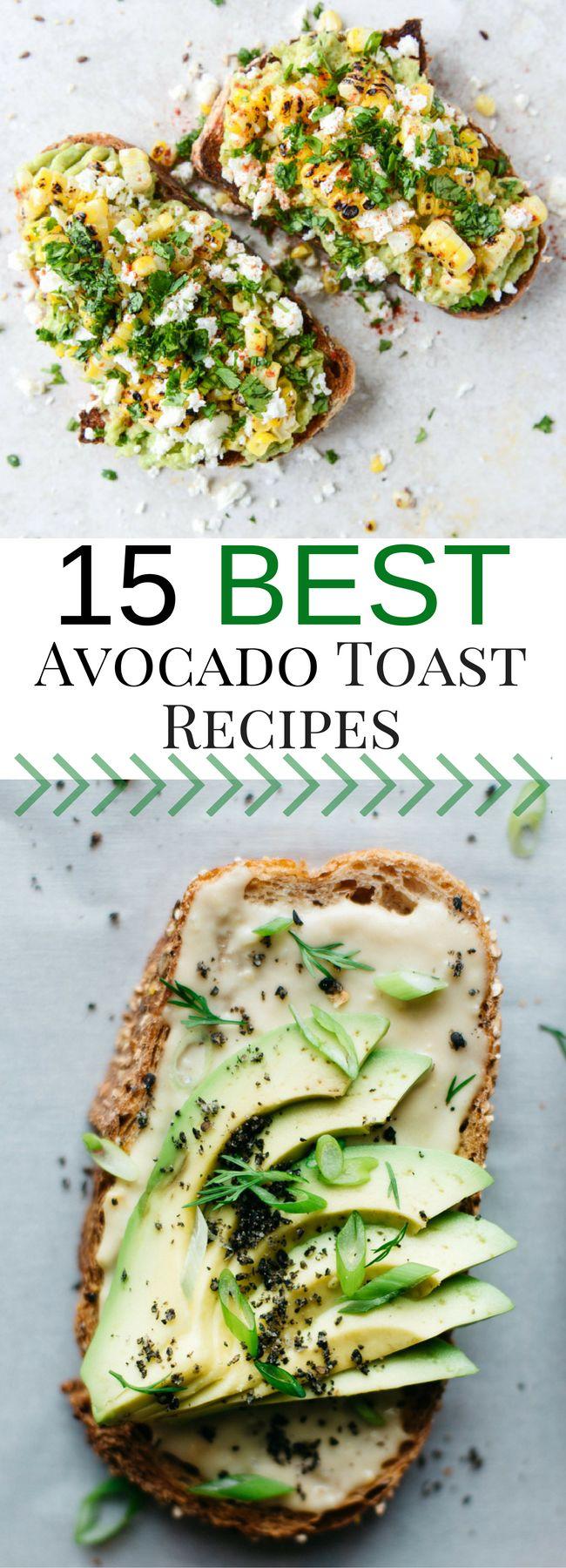 Best Avocado Toast   Avocado Toast Recipes   Healthy Food, Healthy Breakfast