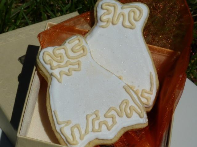 La Bottega dei Golosi: Biscotti abito da sposa