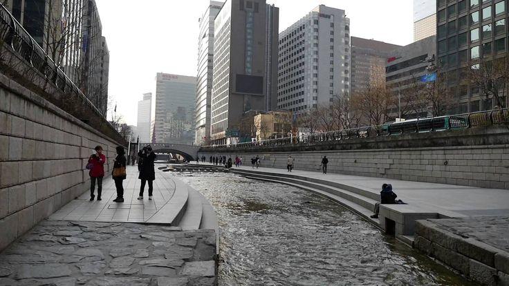 SEOUL CRUISE(Cheonggyecheon Stream) KOREA [서울 청계천 March 25, 2016]/behold...
