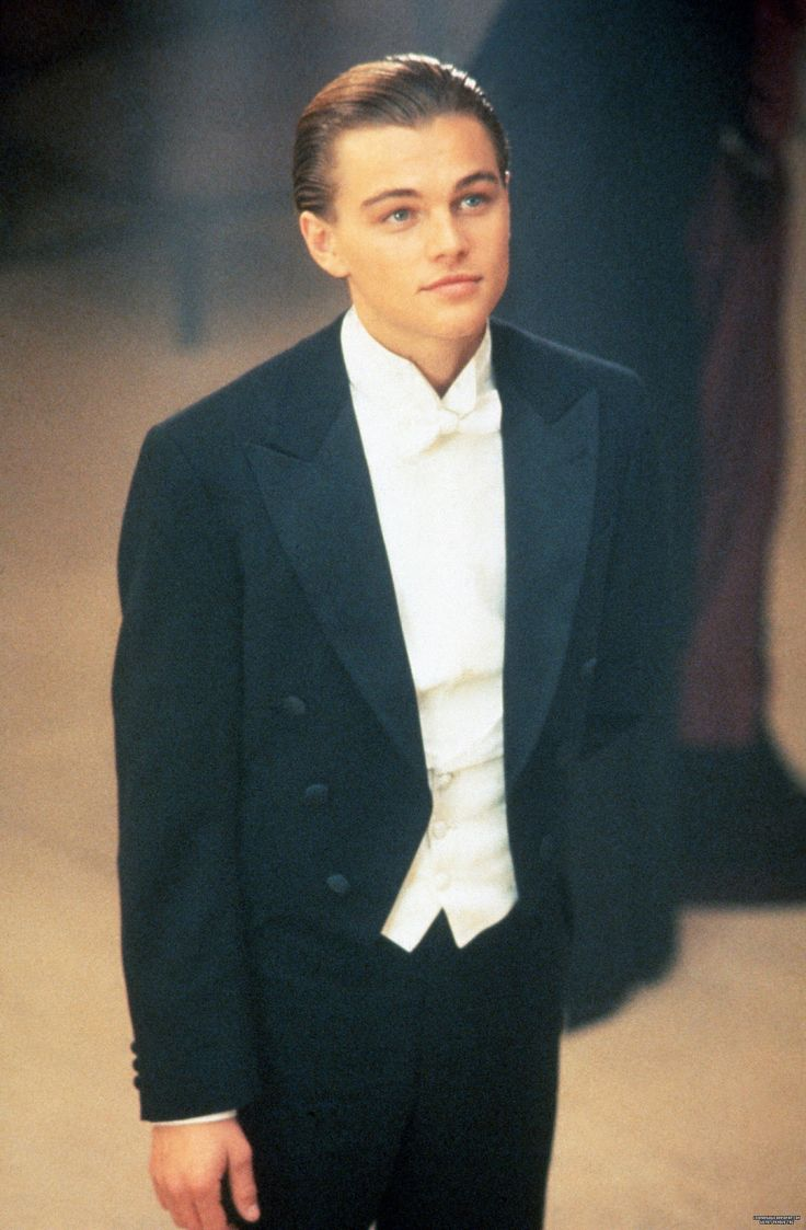 Leonardo DiCaprio in Titanic. I was 4 when I went to go see this in theaters & I instantly thought he was attractive.. I had just experienced my very first crush. 1997 was a good year. Sigh.