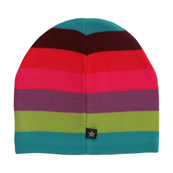 Molo Colder Girly Rainbow Stripe Knitted Hat