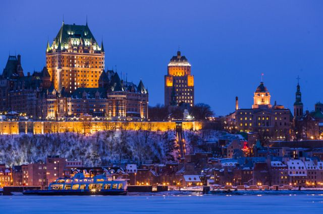(PHOTO: Stuart Dee via Getty Images)  City breaks that are better in winter than summer:  Quebec City (Located on the Saint Lawrence River, Quebec City is a mainly French-speaking city in Canada that dates back to 1608, with the only remaining fortified city walls in North America. The city is beautiful all year round but it really comes alive in winter when highlights include the Carnaval de Québec, the opening of Hôtel de Glace and a huge variety of winter activities, from snow sliding...)