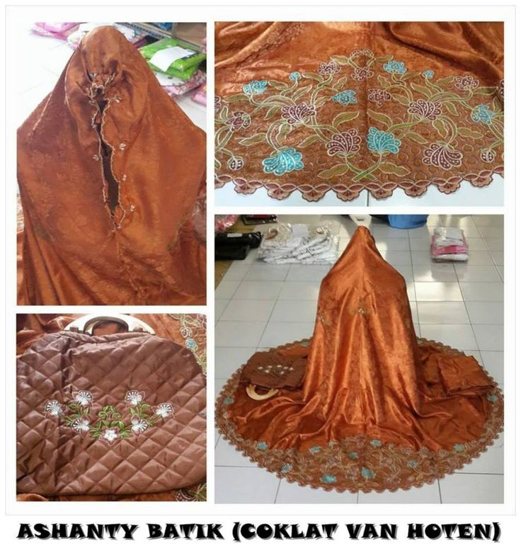 Ashanty Batik (dasar Warna) Bahan Semi Sutera, Set = Mukena + Tas 085855741030 only sms