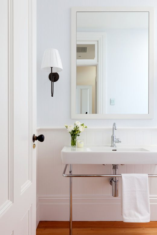 17 best images about powder room on pinterest house for Modern simple bathrooms