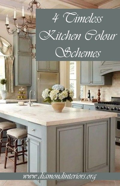 4 Timeless Kitchen Colour Schemes | Female Bloggers Free for All ...