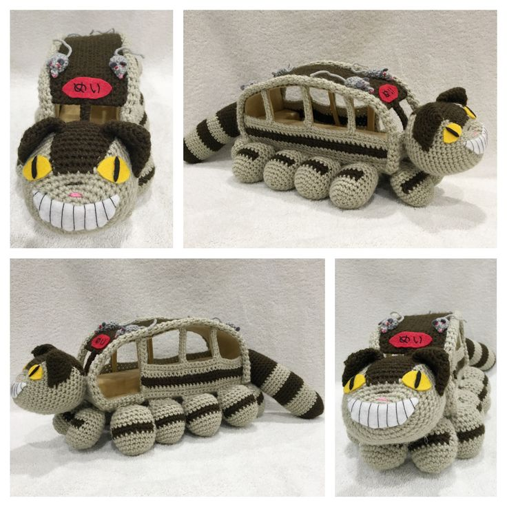 Catbus from My Neighbor Totoro - March 2016
