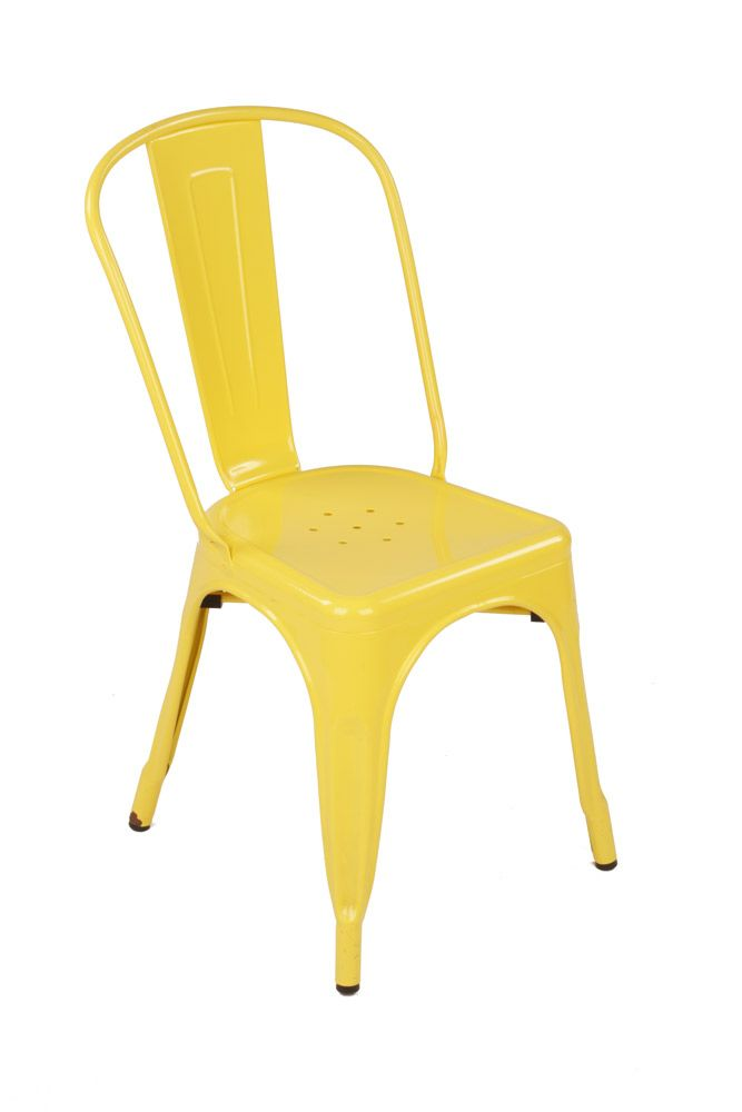 Mattblatt chair yellow