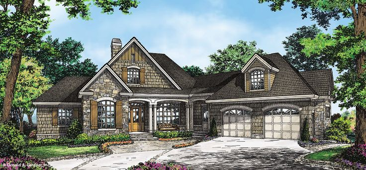 Home plan the ironwood by donald a gardner architects not for Donald a gardner architects