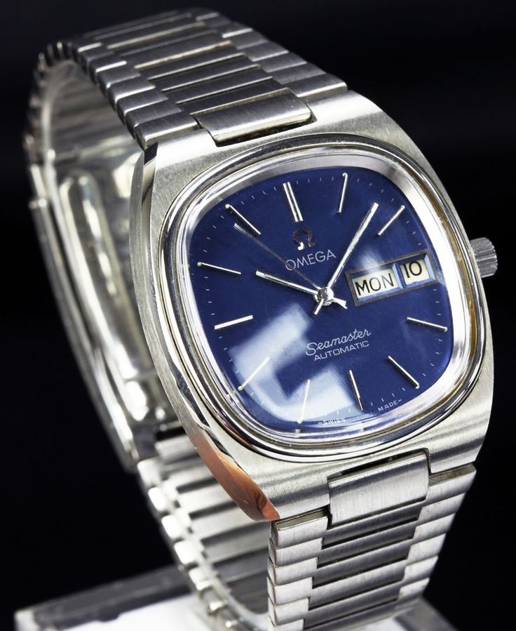 Vintage Omega Seamaster 1020 Automatic Day Date Men's Wristwatch Serviced | eBay