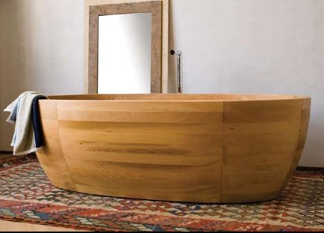 Utilizzare il #legno per ralizzare una #vasca, interessante proposta by #Boxart #wood #bathub #casa #design #arredobagno www.gasparinionline.it