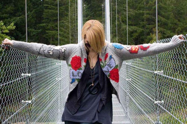 Tattoo Sweater Womens-LOVE by laurakapp on Etsy