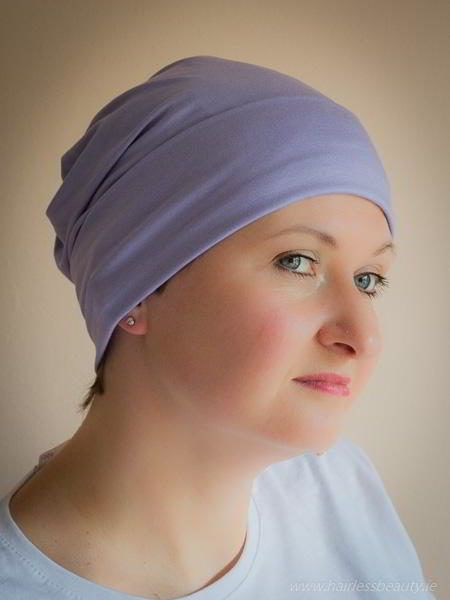 Belladonna is a very soft, comfortable and simple #hat. Is perfect as a sleeping #cap or home cap. Also very practical on your holidays especially when you sit next to swimming pool. This cap looks like #beanie, recently very popular head cover. #cancer #chemo #hairloss #alopecia #turban