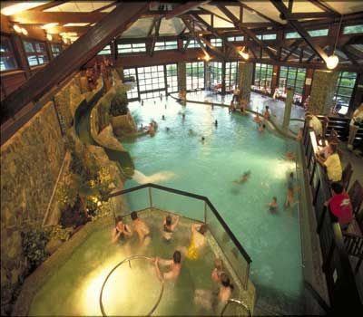 #Disneyland Paris. The Sequoia Lodge Hotel indoor pool #DLRP #DLP #Disney