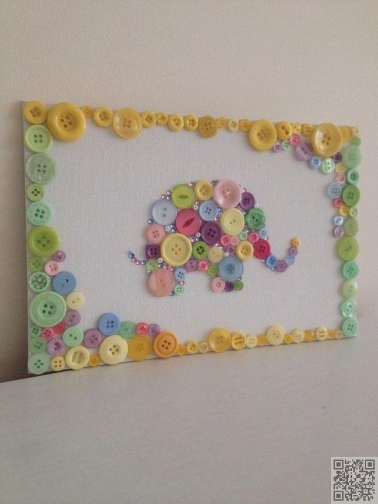 Image result for button art giraffe