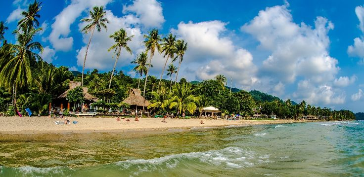 Beautiful Nature Of Koh Chang Beach