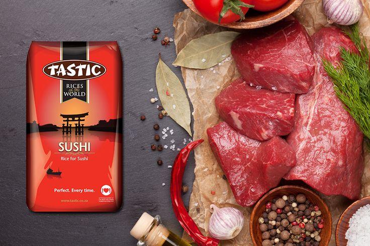 yummy Miso steaks with warm mirin slaw and sushi rice recipe http://bit.ly/1xuJ5nN