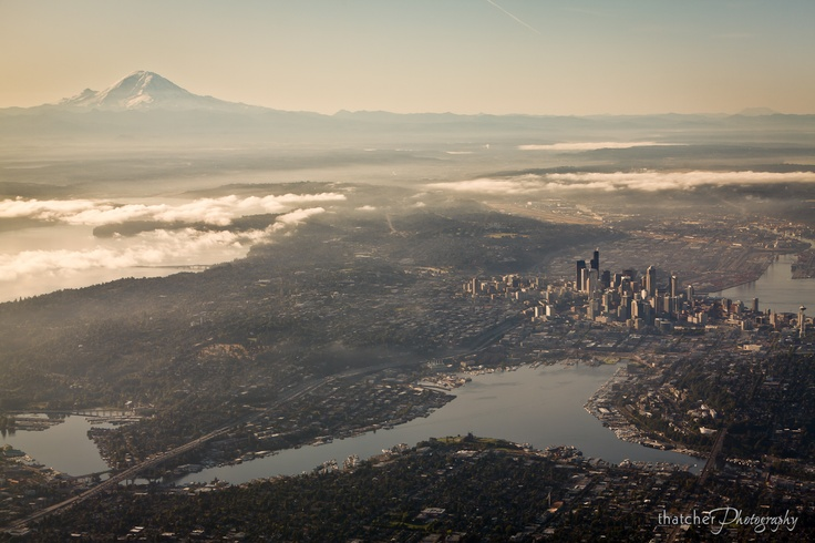 another Seattle from above shot