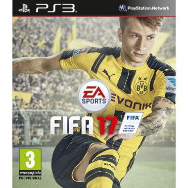 PS3 FIFA 17  Ook dit jaar wordt er weer een nieuw voetbalseizoen afgetrapt met FIFA 17 voor de PlayStation 3!  EUR 38.00  Meer informatie