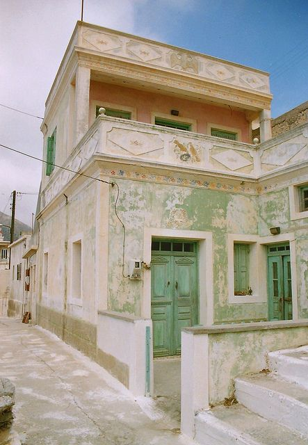 Karpathos Olympos in 1990 - Κάρπαθος Όλυμπος