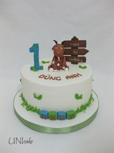 C219. 1-vuotis kakku. 1st birthday cake
