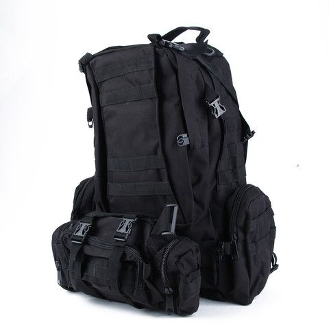 Outdoor Tactical Backpack Military - Large + FREE Water Bladder – National Parks Depot
