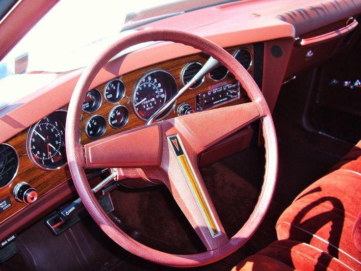 1976 pontiac grand prix dashboard classic car interiors pinterest. Black Bedroom Furniture Sets. Home Design Ideas
