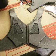 Let the games begin #bane #batman #chestpiece #chest #cosplay #armour #armor #foam #cosplayarmor #build #cosplays #cosplayer #skyrim #costume #costumedesign #cosplayersofinstagram #cosplayprogress #pic