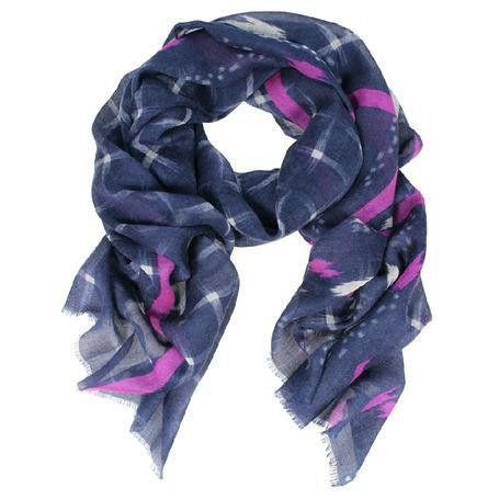 DLUX Osaka Wool Silk Scarf – Sally Anne