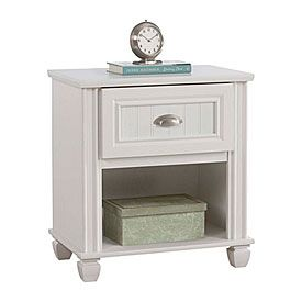 For Guest Room View Ameriwood Federal White Night Stand