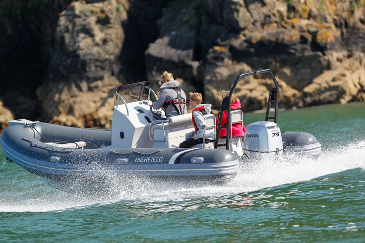 The Highfield Ocean Master 590 is great for exploring close to the coastline.