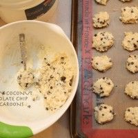 Creamy Coconut Chocolate Chip Cookies