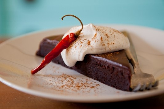 Chile Chocolate Cake with Cinnamon Whipped Cream - #ZylissUSA, # ...