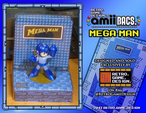 Super Smash Bros Mega Man AmiiBac