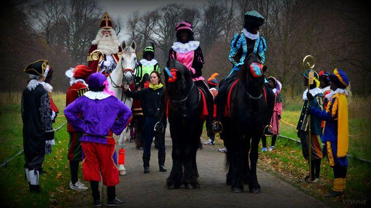 Pieten te paard, Heemskerk 2013