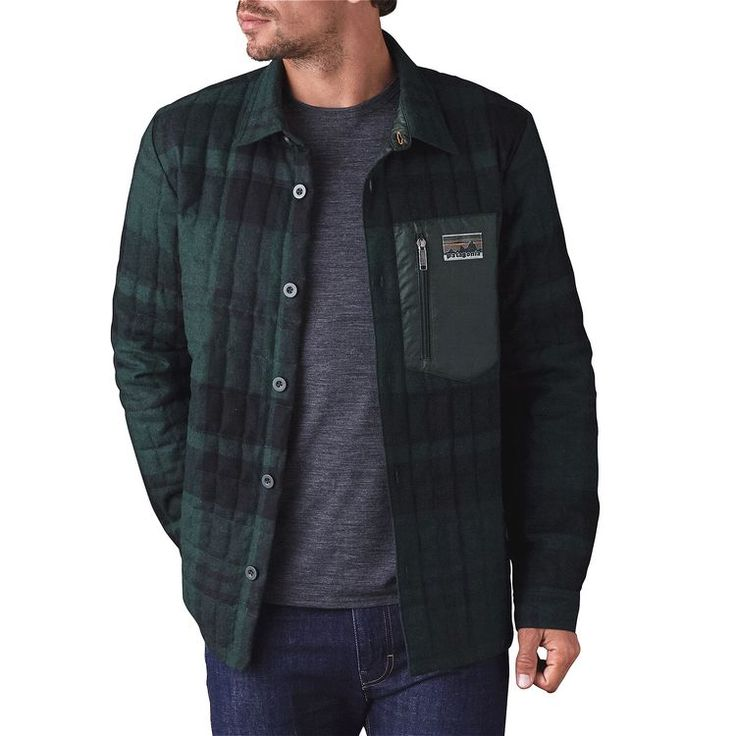 M's Recycled Down Shirt Jacket, Patagonia